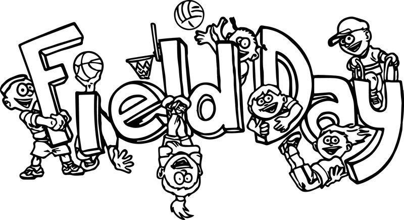 100 Days Of School Field Day Coloring Page School Coloring Pages Penguin Coloring Pages Dinosaur Coloring Pages