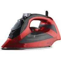 Show details for Brentwood Steam Iron With Auto Shutoff Red