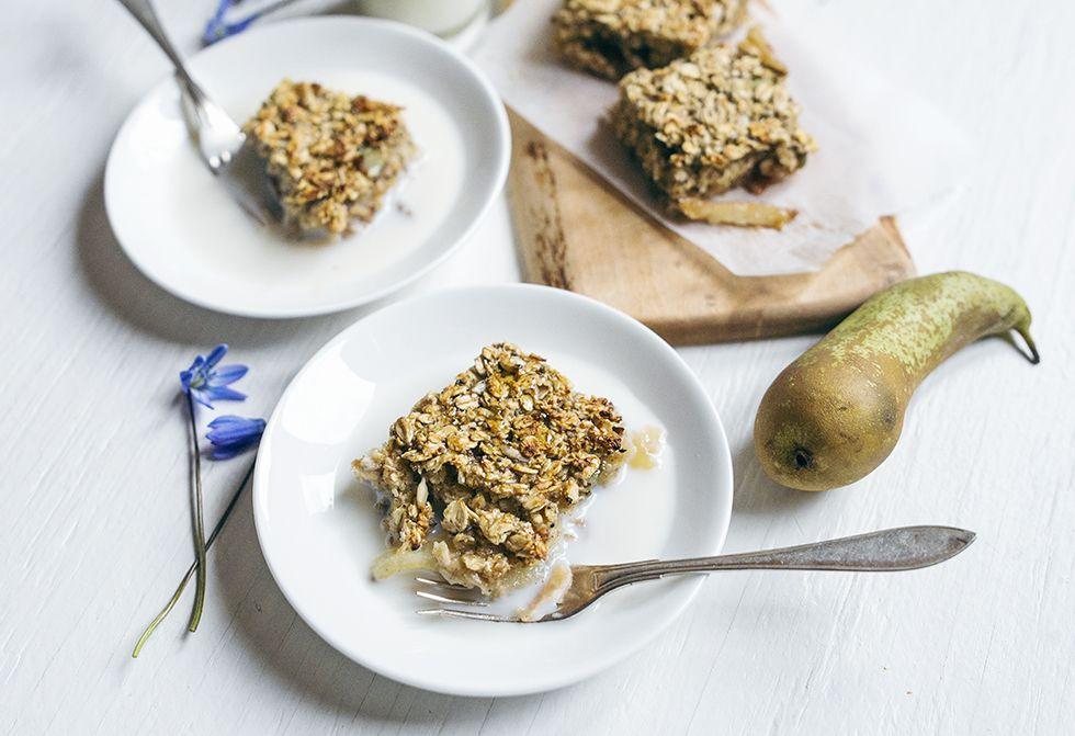 Ovnbagt Paeregrod Caramel Apples Food Breakfast