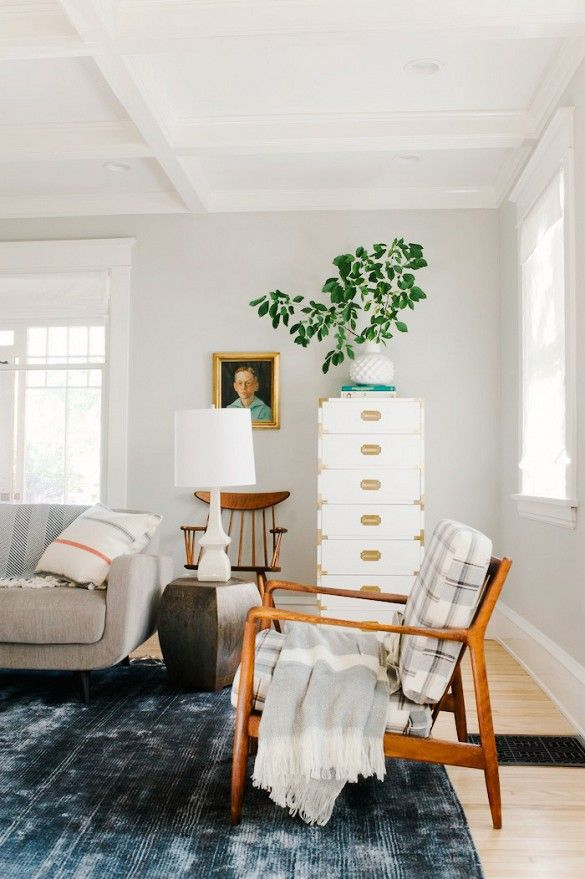 This Is Happening Moody Blue Rugs In Living Room Living Room Makeover Vintage Living Room