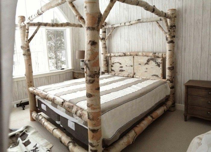 Designer himmelbett  himmelbett selber bauen jeder kann ein solches himmelbett selbst ...