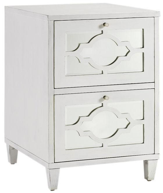 I Think This Mirrored File Cabinet Would Make A Great