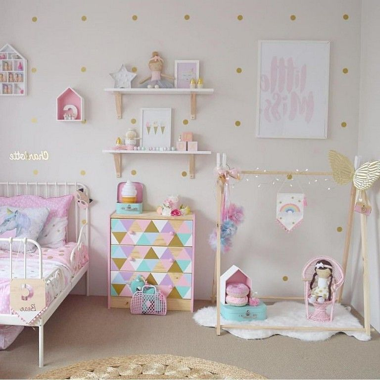 25 Cute Unicorn Bedroom Ideas For Kid Rooms Bedroomdecor Bedroomdesign Bedroomdecoratingideas Toddler Girl Room Loft Bed Curtains Toddler Bedroom Girl