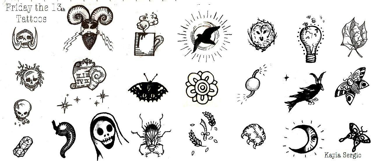 Tattoo ideas Square tattoo, Friday the 13th tattoo, 13