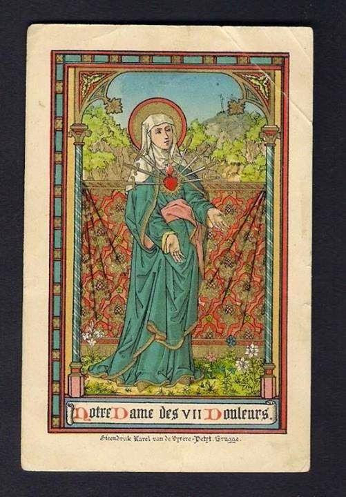 Sete Dores De Nossa Senhora Com Imagens Virgem Maria Senhor