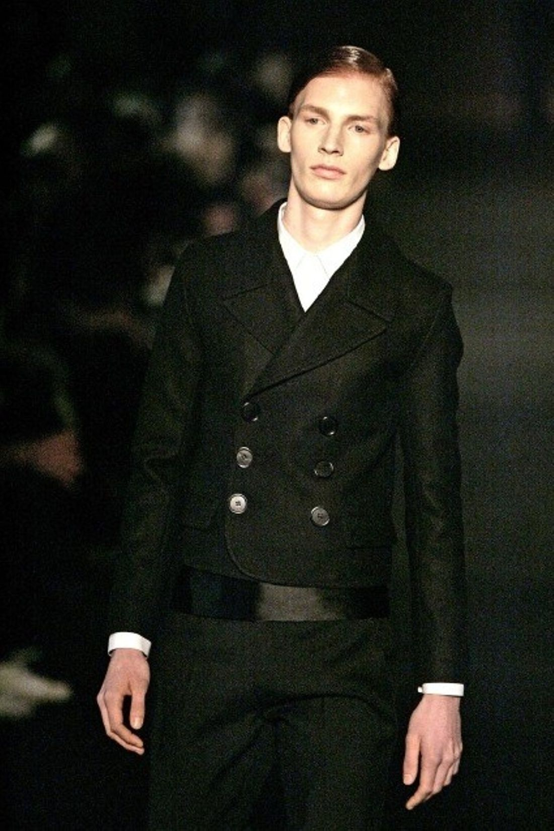 on feet shots of so cheap the cheapest Dior Homme FW06 Campaign/Runway Short Peacoat sz50 | homme ...