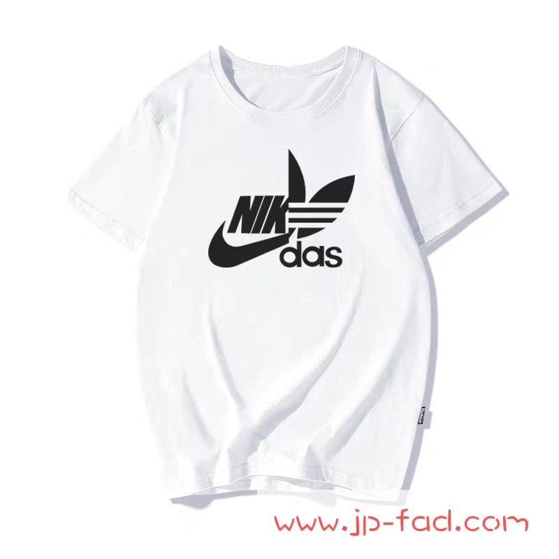 Ins流行り 子供服 アディダス ナイキ コラボtシャツ通販 キッズ 100 韓国 ナイダス ベビー服 子供服 Tシャツ 服