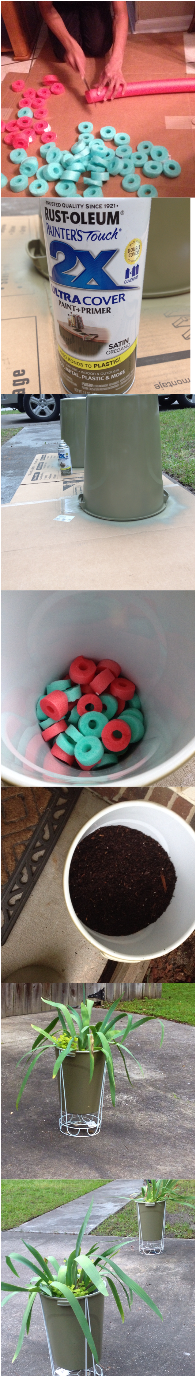 Perfectly Cheap Planters Dollar Store Pool Noodles For