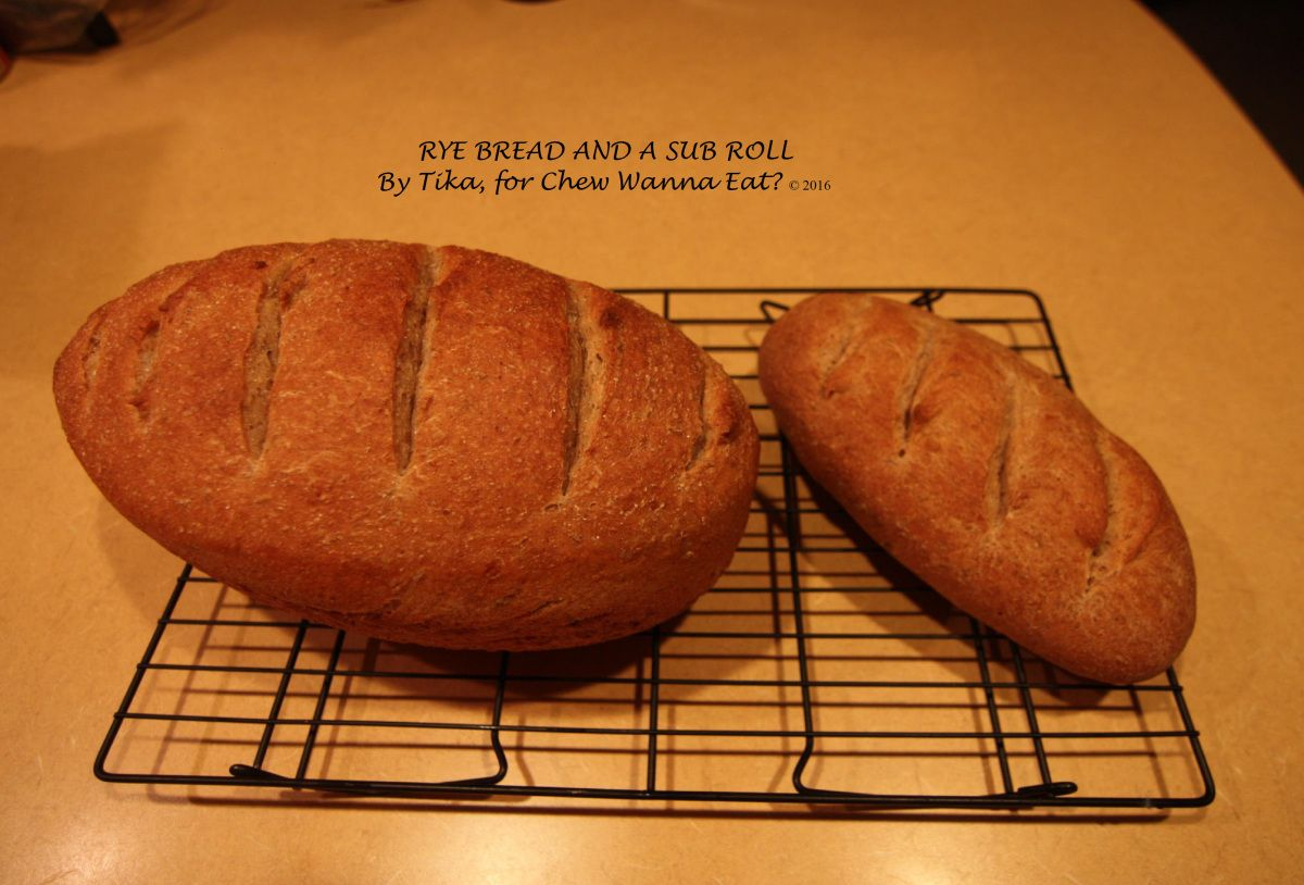 RYE BREAD, BY TIKA