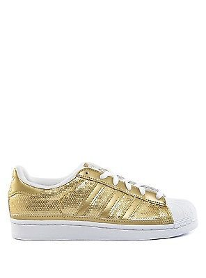 Neu Adidas Sneaker Damen Superstar W Schuhe S83383 Gold Women