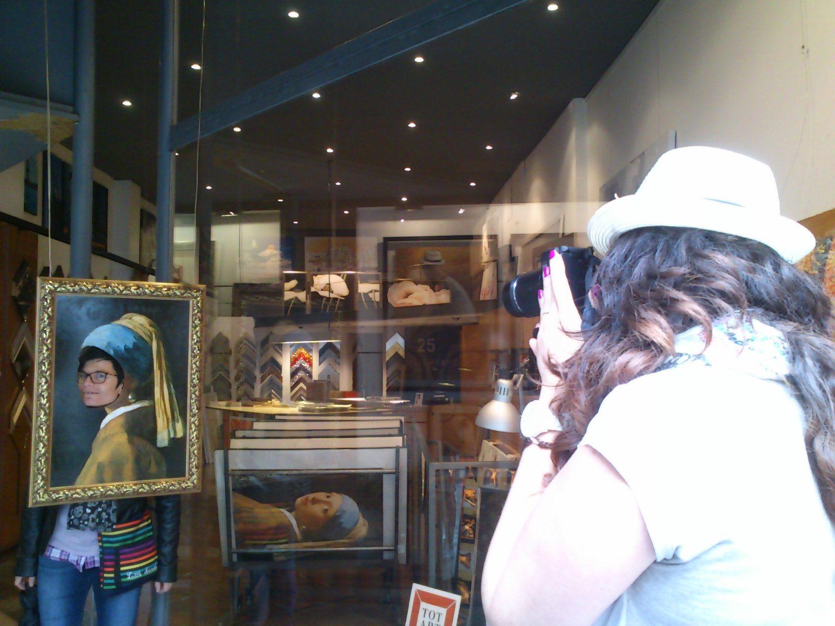 la Chica de la Perla en nuesta #tienda de #cuadros y #marcos TOTART ...