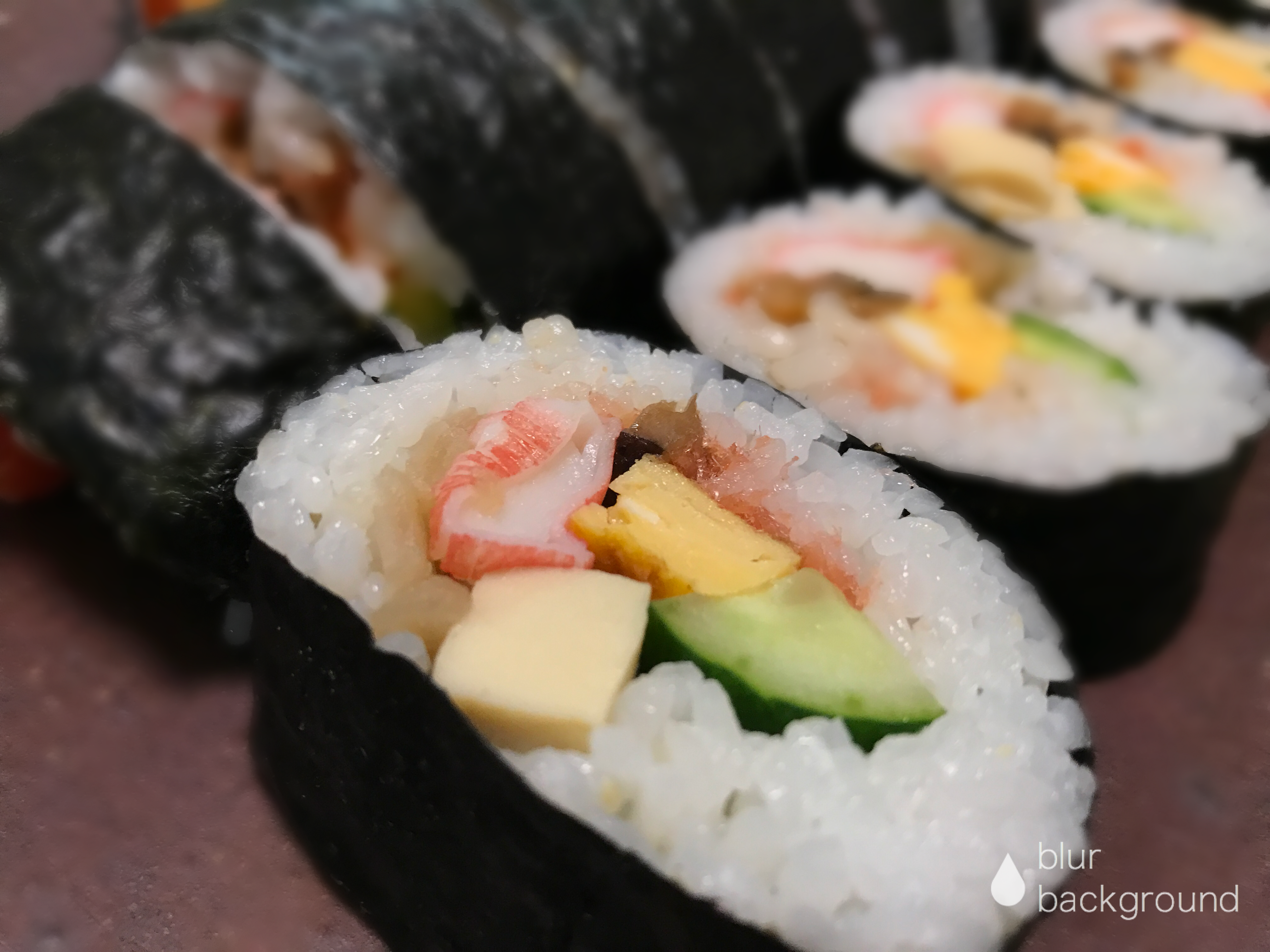 Long Sushi Roll Food Sushi Rolls Sushi