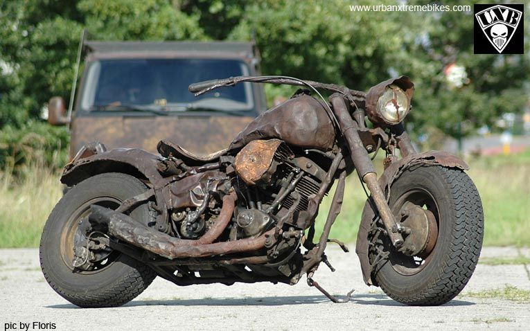 Image�: Forum Moto Un peu d'art... | Rat bike, Buell motorcycles, Rat rod  motorcycle