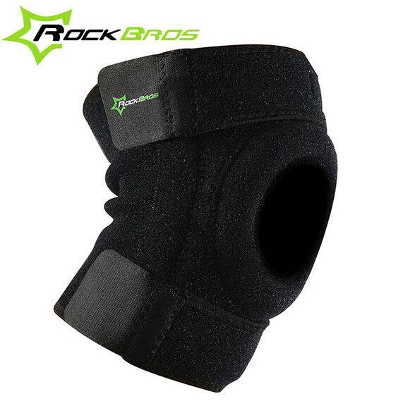 Rockbros 1pc Cycling Open Patella Knee Support Sport Protector Knee Bike Pad Sleeve M L Knee Support Knee Support Braces Supportive
