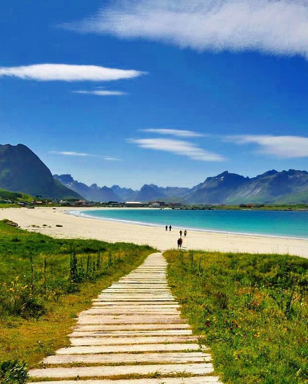 Are you looking forward to the summer ramberg beach in