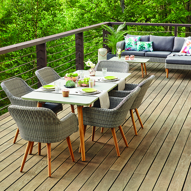 Scandinavian-inspired, this patio set will appeal to those looking ...