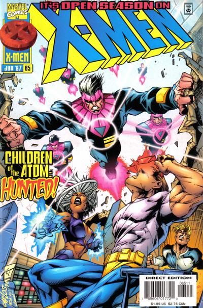 X Men Vol 2 65 X Men Comics Marvel Comics Covers