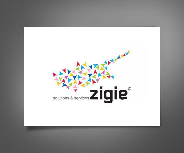 Zigie logo by Bright8Media, via Behance