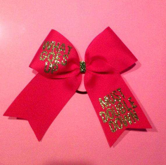 Flyer cheer bow by kissmybowtx on etsy cheer bows bows cheer - Cute cheer bows ...