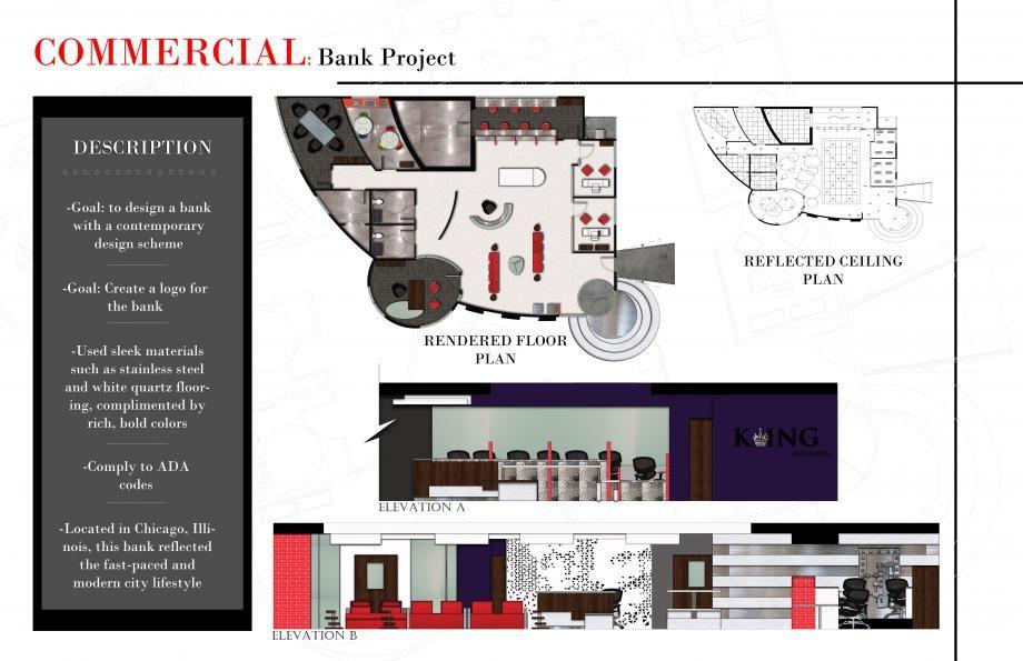 Attractive Interior Design Student Portfolio | ASID