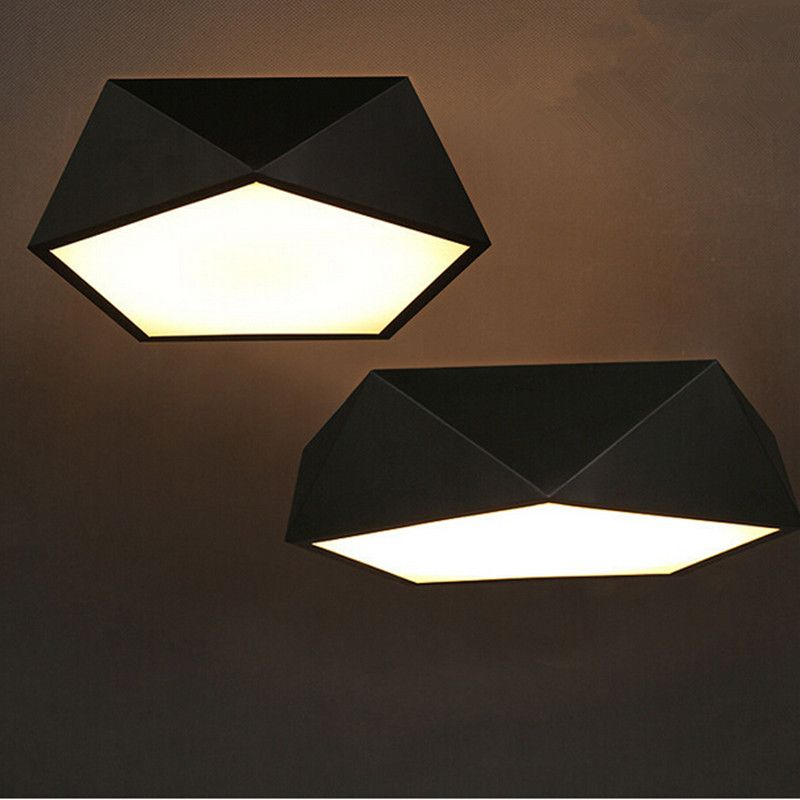 Aliexpress.com : Moderne Decken led lampe Geometrischen polygon ...