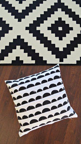 kissenh lle kissenbezug kissen halbkreise von ahoj 2012 auf ideen rund ums. Black Bedroom Furniture Sets. Home Design Ideas