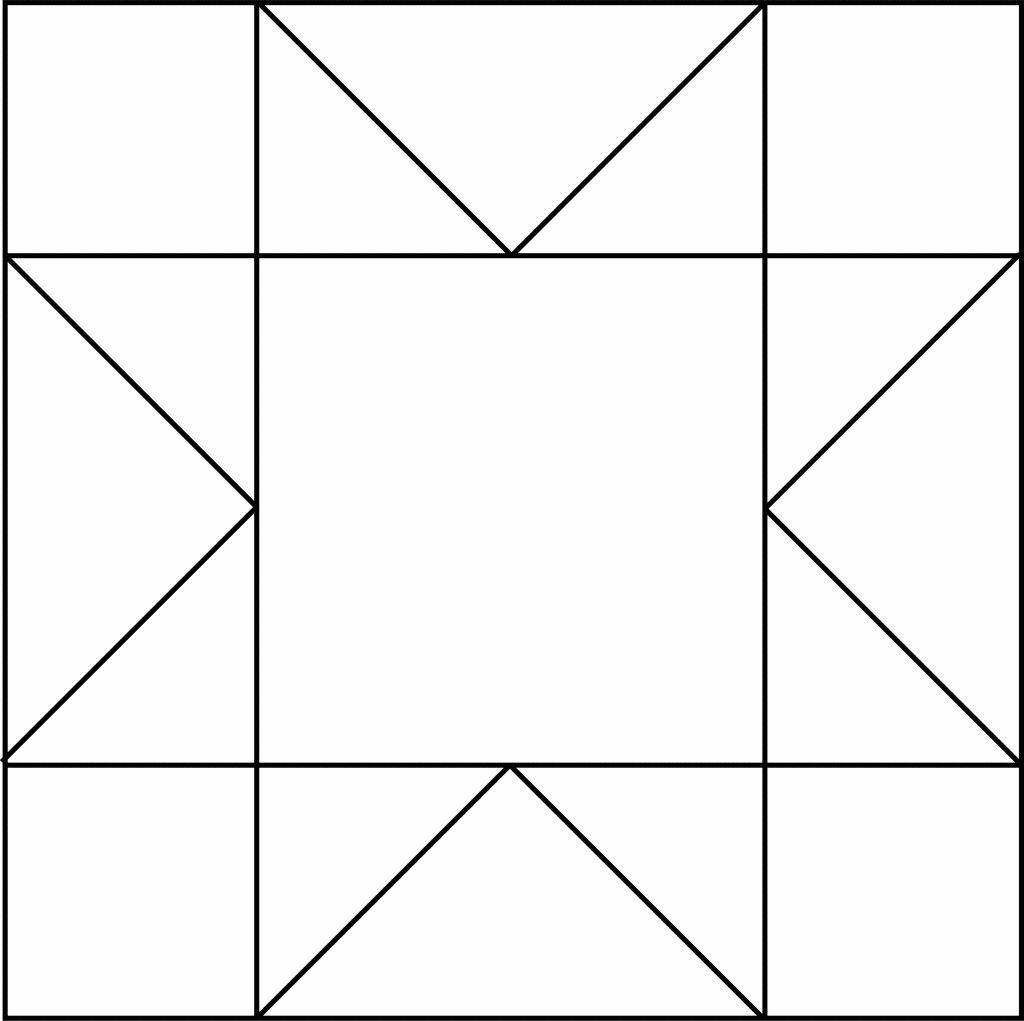 New Star Quilt Coloring Pages Download Quilt Patterns Coloring