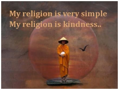 Nobel peace prize song tibetan buddhism