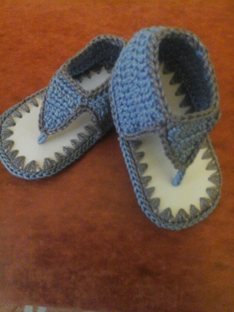 858f200fd Sandalias para varon en hilo de algodon Zapatos De Bebé