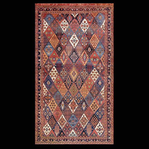 Bakhtiari Rug - 19333   Persian Informal 7' 4'' x 13' 3''   Other, Origin…