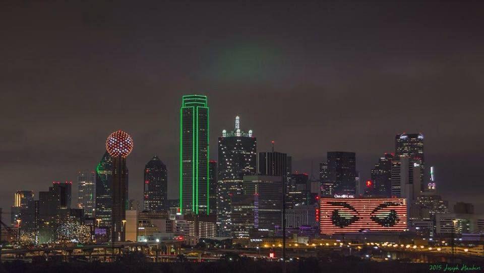 the dallas skyline on halloween in 2018 halloween inspiration