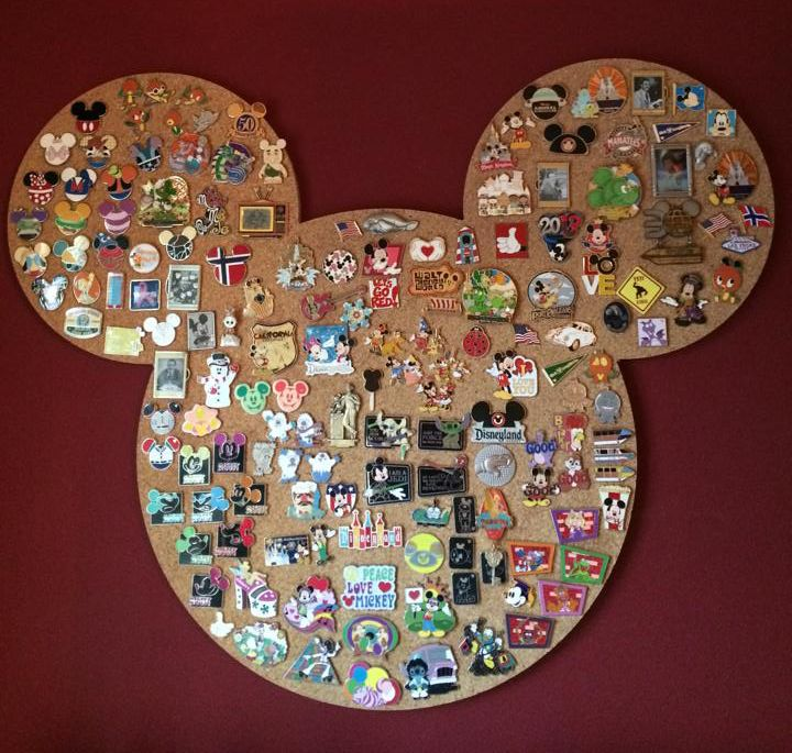 Disney Mickey Mouse Pin Board. Perfect For Your Disney Pin Collection. Many  More Unique Cork Boards And Pin Boards Available At Www.uniquecork.com.