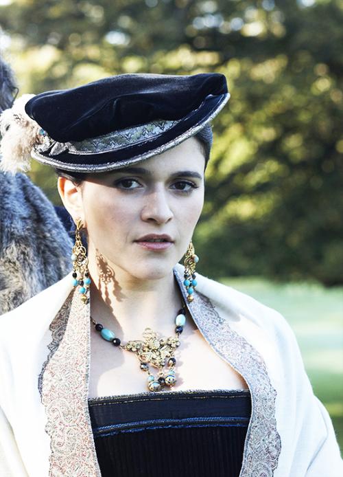Selma Brook in The Tudors (2007). x