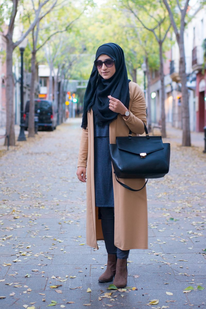 5aceef5f156d comment s habiller demain, une idée de tenue pour rester inspirée  hijab   hijabtrend  fashiontrend  chichijab  classe  2018  hijabfashion