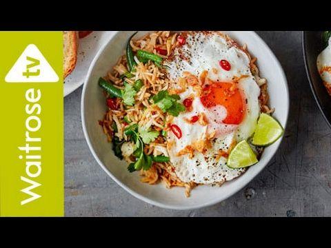 Nasi Goreng With Fried Egg Waitrose Youtube Nasi Goreng Recipe Nasi Goreng Fried Egg