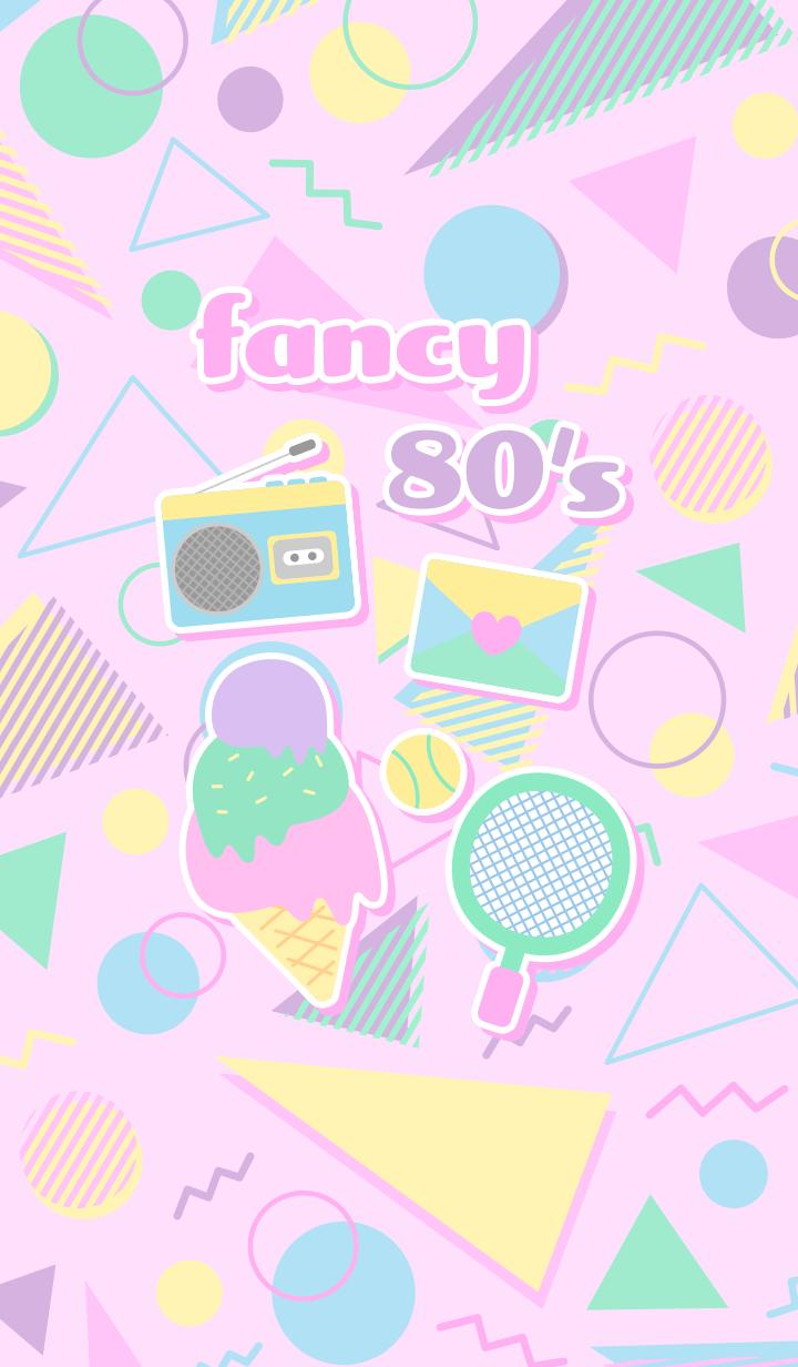 Fancy 80 S Wallpaper By Line カワイイ背景