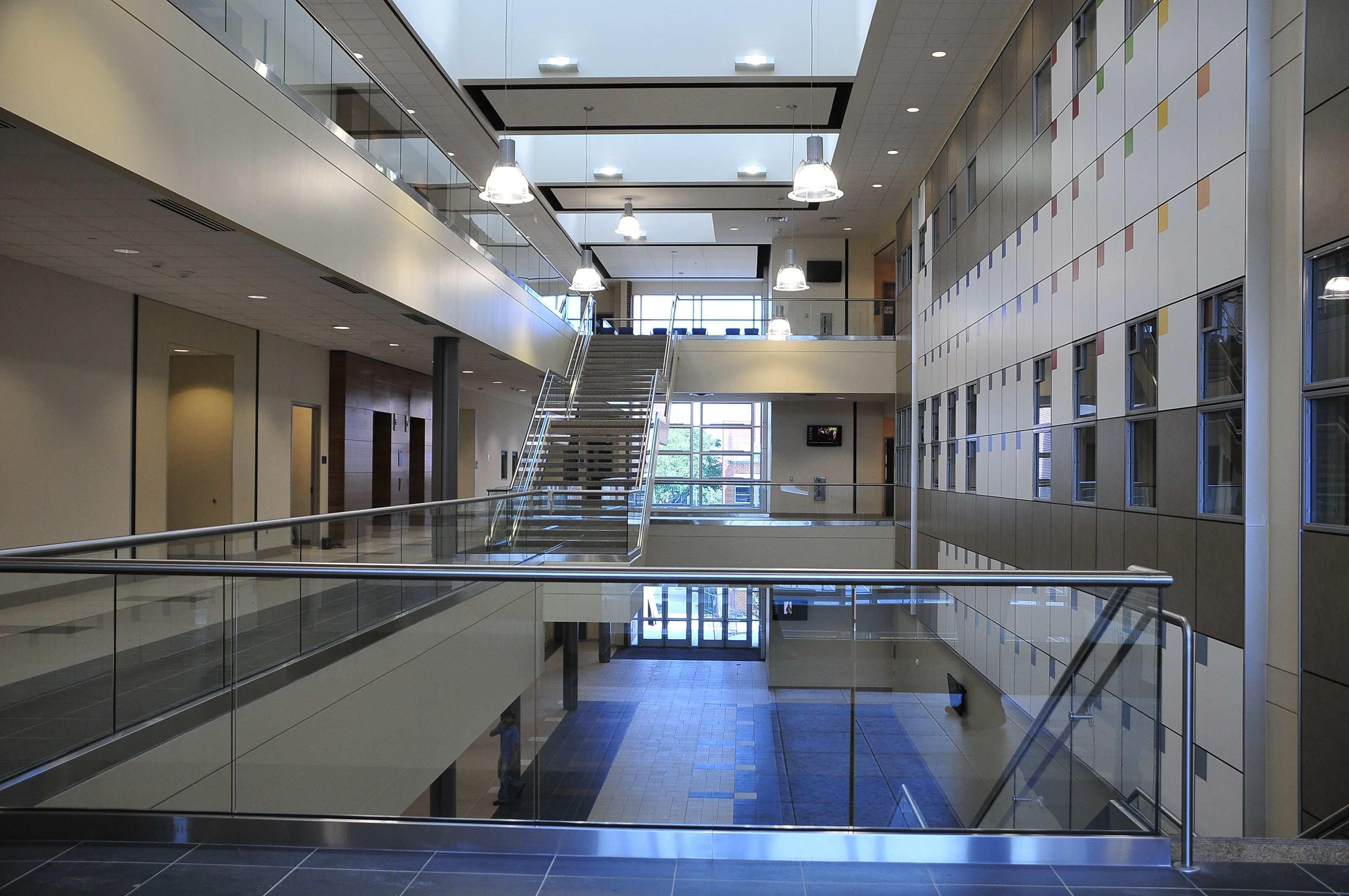 Central campus allied health and natural sciences building
