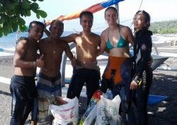 This week in Amed - All hands on deck for a Waterman's Week clean-up - http://www.twofishdivers.com/2016/07/watermans-week-clean-up/?utm_source=PN&utm_medium=Pin+to+Travel&utm_campaign=SNAP%2Bfrom%2BTwo+Fish+Divers