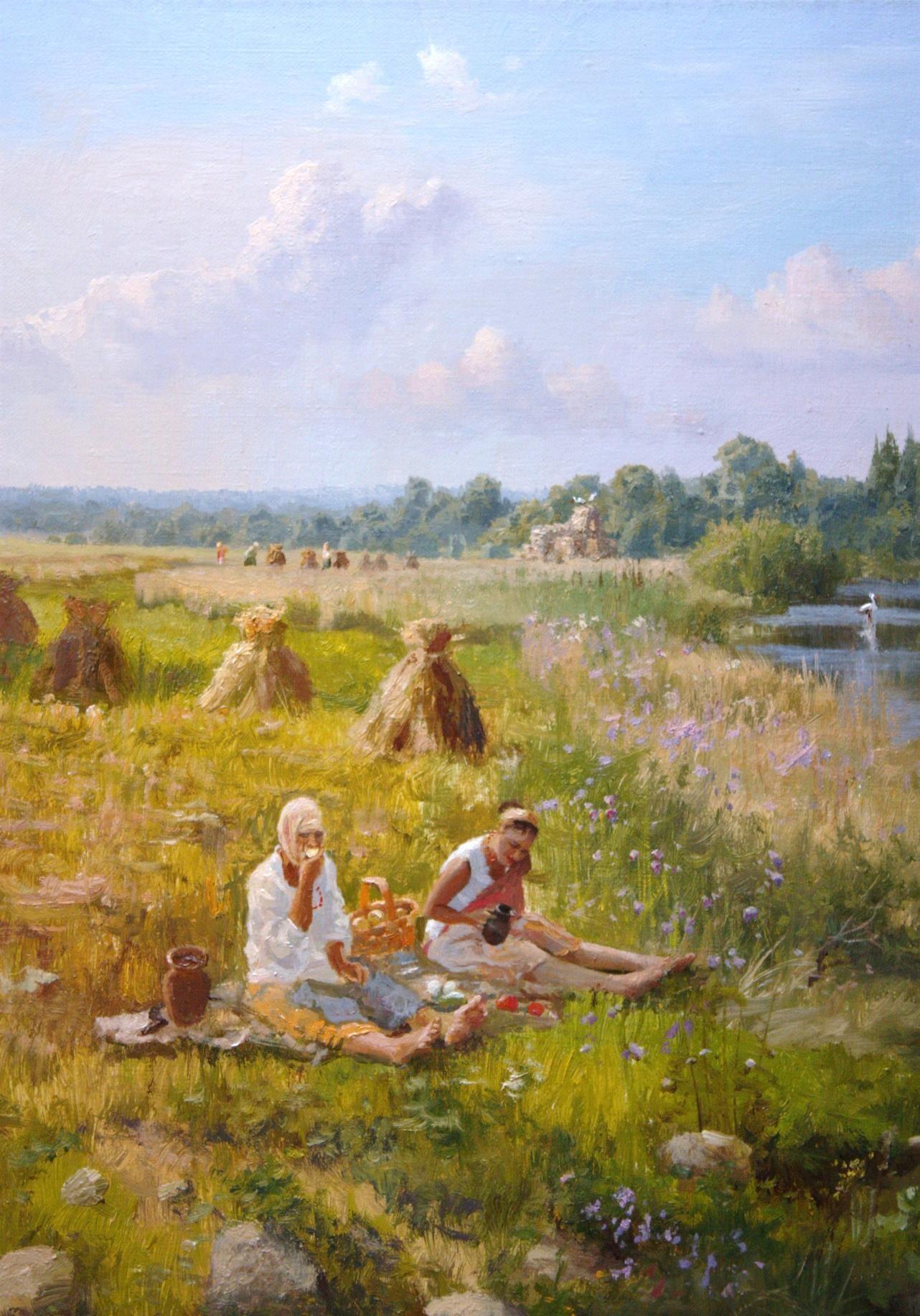Vladimir Zhdanov: biography and paintings of the artist 42