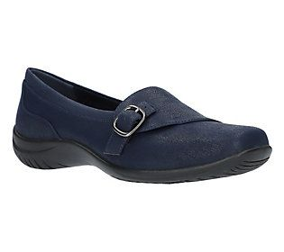 What are we clamoring for? Casual footwear. And these slip-ons scratch that itch quite comfortably. From Easy Street.
