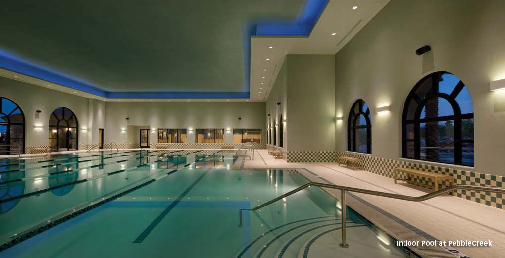 Active Community Goodyear Arizona Pebblecreek Resort Luxury Retirement Communities Arizonaindoor Poolswinter