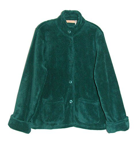 La Cera Women's Fleece Bed Jacket $42.00 #topseller