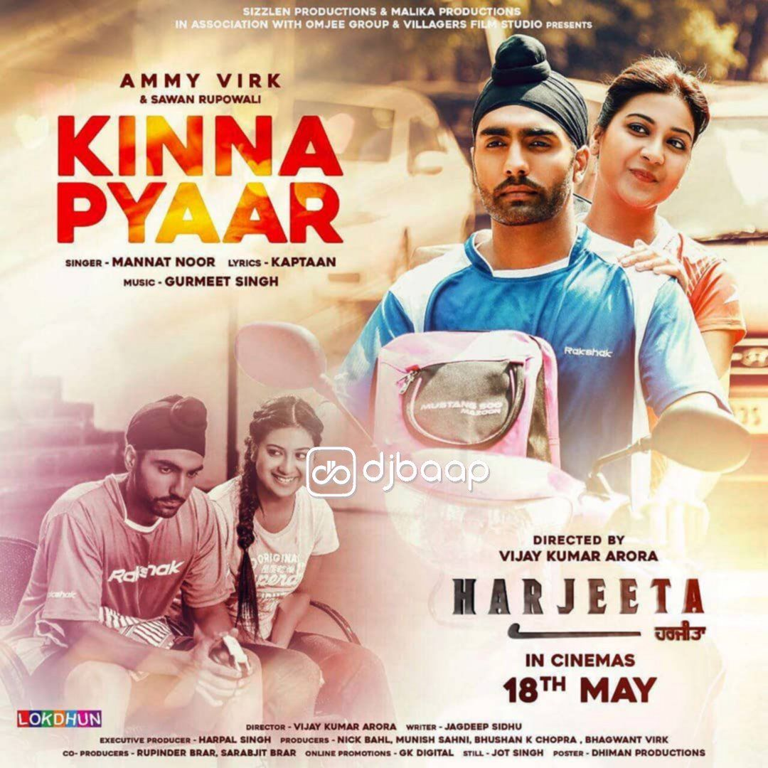 Rohanpreet New Song Pehli Mulakat Mp3 Download: Kinna Pyaar Mp3 Song Punjabi Download By Mannat Noor In