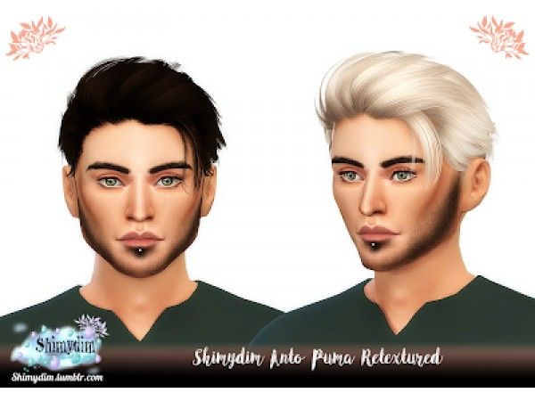 sklep delikatne kolory informacje dla The Sims 4 Anto Puma Retexture - Naturals + Unnaturals ...