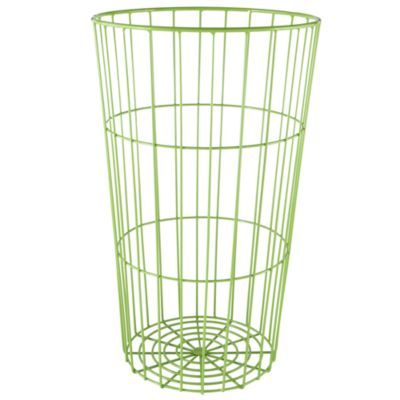 Wire Ball Bin | Flea Market Wire Ball Bin Green The Land Of Nod Maison