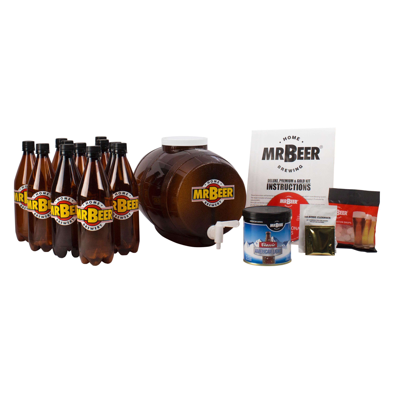 Amazon.com: Mr. Beer Premium Edition Home Brewing Craft Beer ...