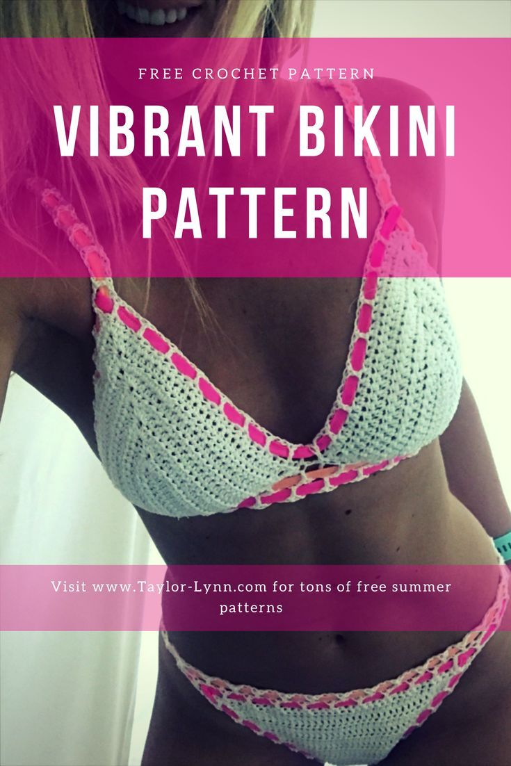 Free Crochet Bikini Pattern Custom Decorating