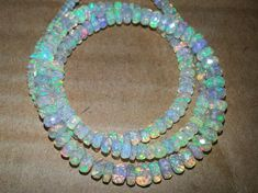 Jewellery Making Opal Necklace 5-8 MM 16 Inches Strand 70/% SALE Natural Best Quality Opal Rondelle Faceted Beads Welo Fire Opal