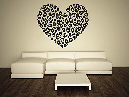 Leopard Print Spots Vinyl Wall Decal Decor