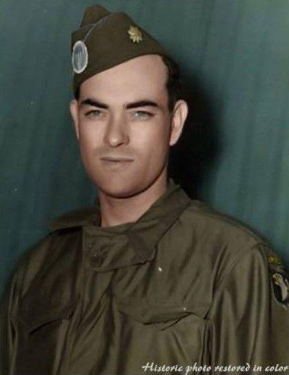 미군 82 공수사단장(82nd Airborne Division) 제임스 마우리스 가빈